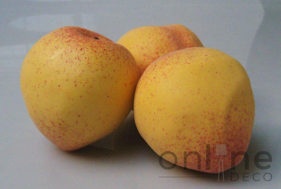 Fruta Durazno decorativo 9 cm – Set x 12