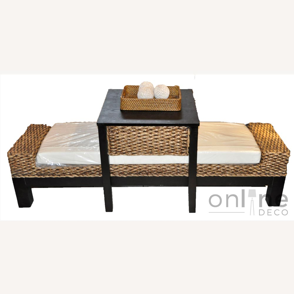Pie de cama con mesa desayunador mts online deco - Pie de cama ...