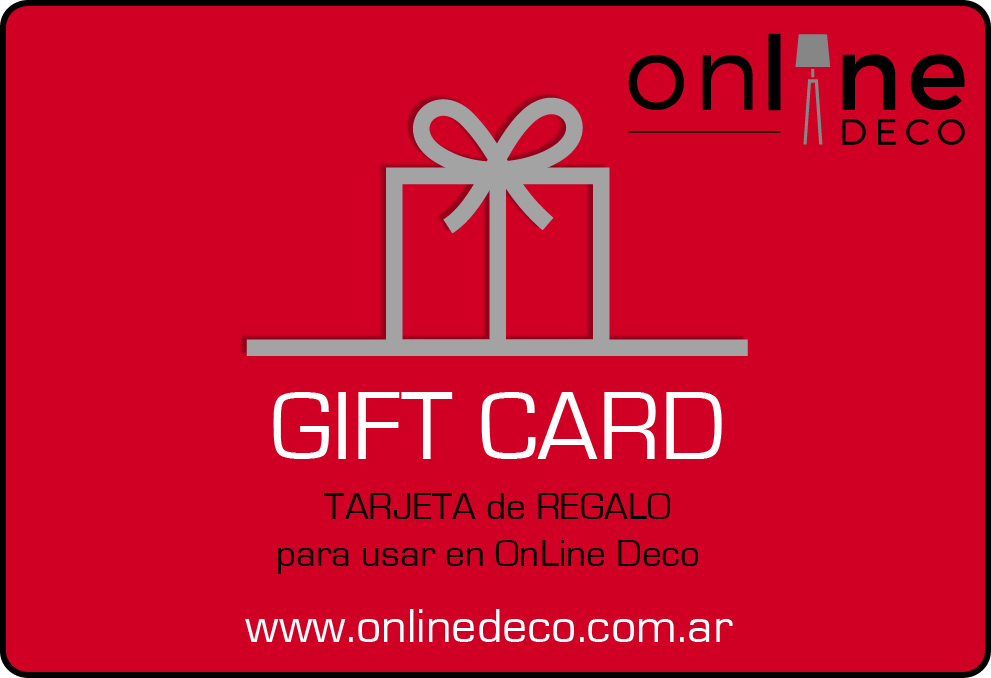 GIFT CARD ESCARLATA
